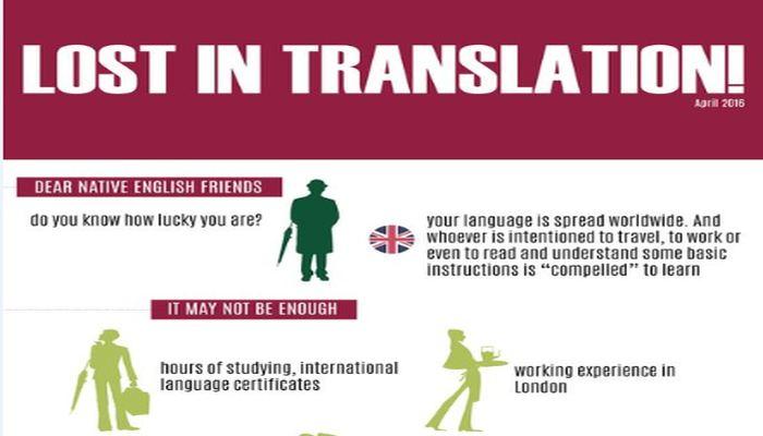 Lost in translation!