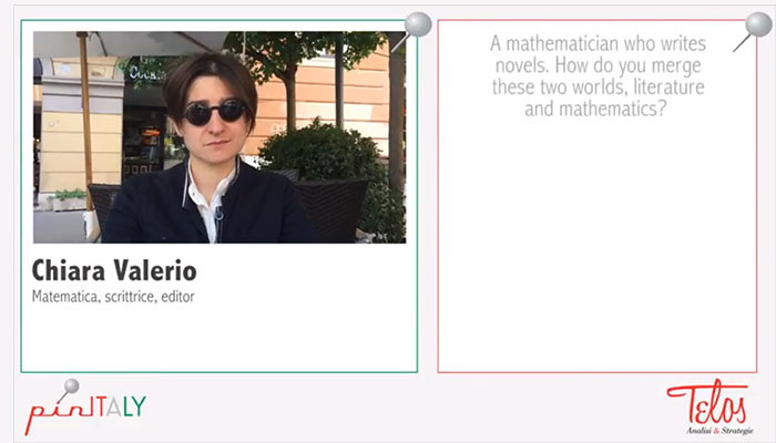 Interview with Chiara Valerio