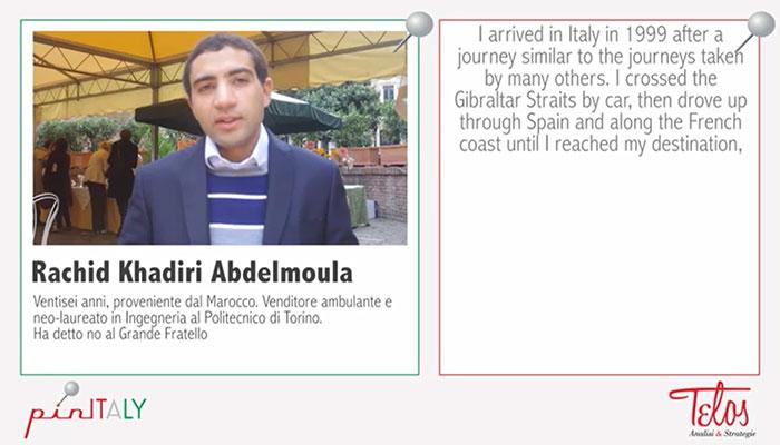 Gli italiani sono razzisti? Lo abbiamo chiesto a Rachid Khadiri Abdelmoula, l'uomo di grafene