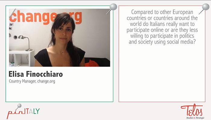 La democrazia del click. Ne parliamo con Elisa Finocchiaro di change.org