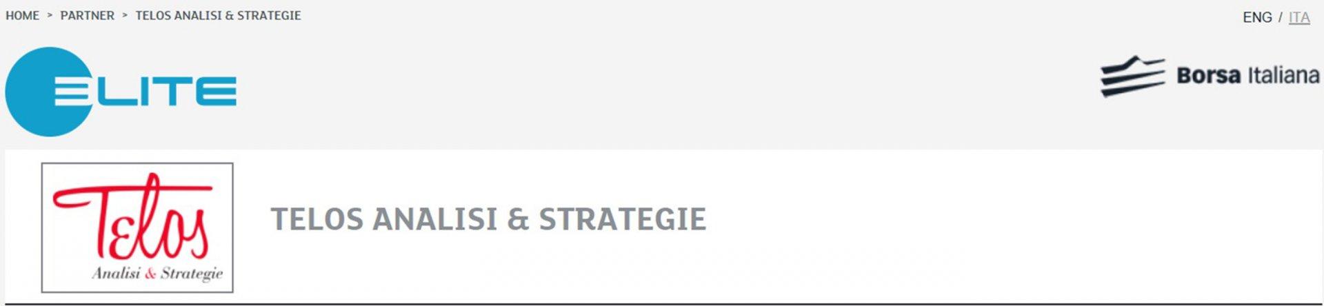 Telos A&S, prima società di lobbying partner di ELITE-Borsa Italiana