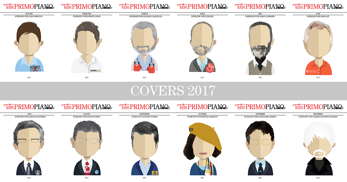 The 2017 avatars by Primo Piano Scala c
