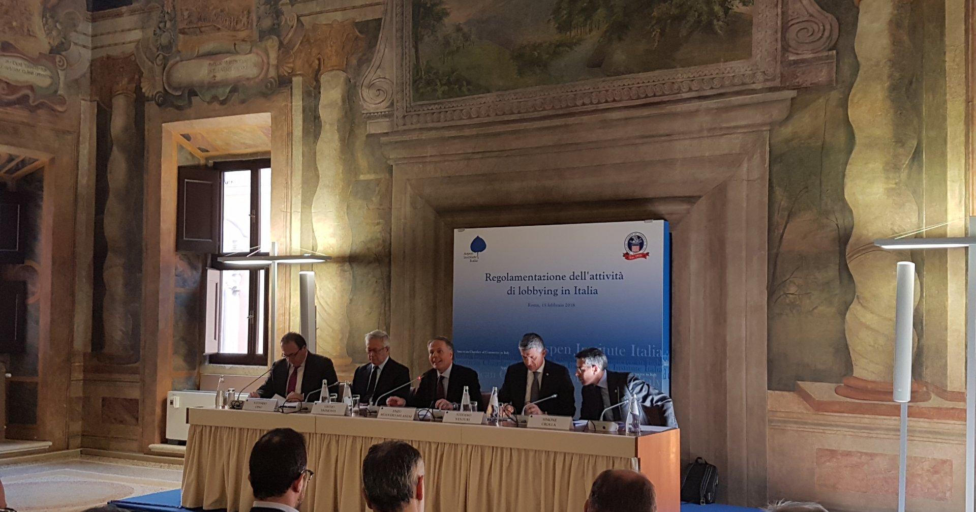 Scriviamo e parliamo di Lobbying con AmCham Italy