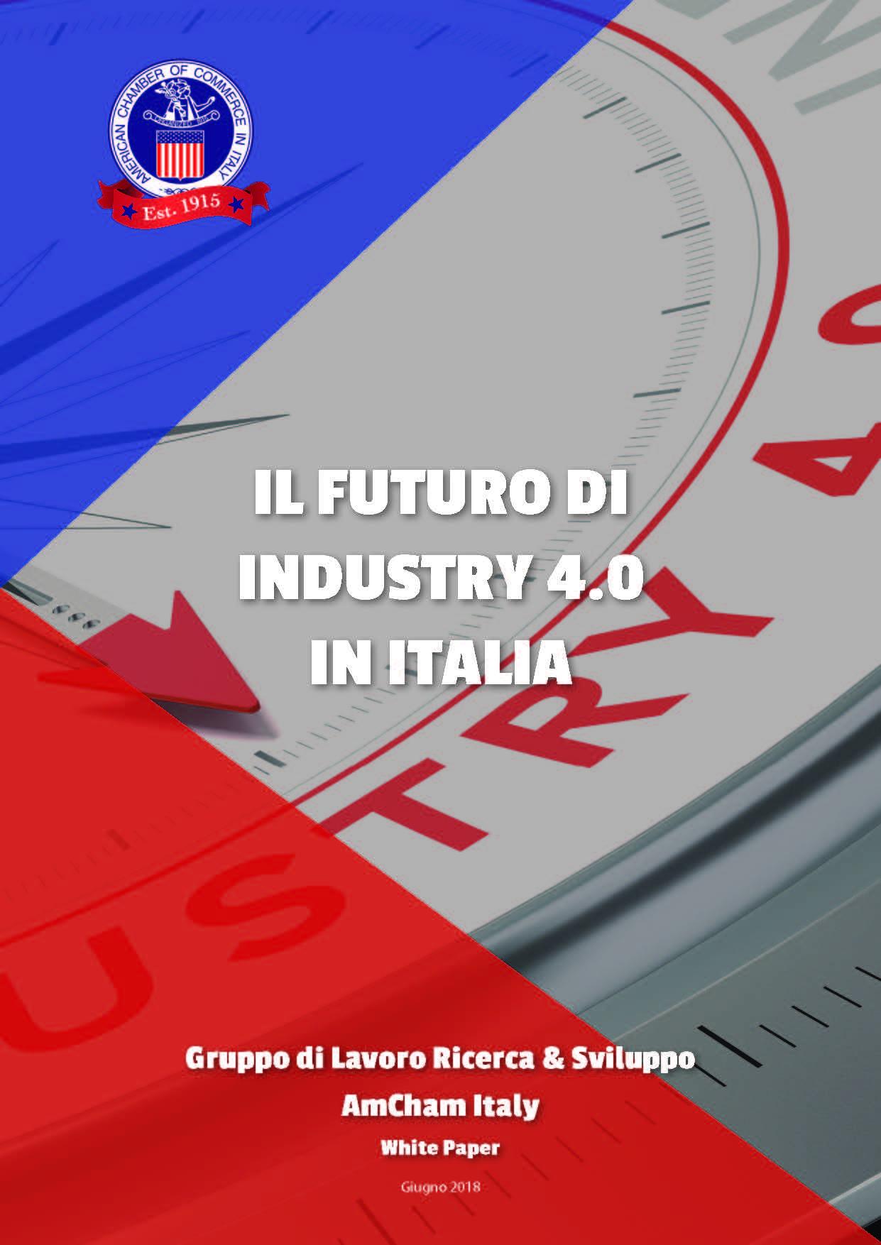 Telos A&S e il Libro bianco AmCham sul Futuro dell'Industria 4.0