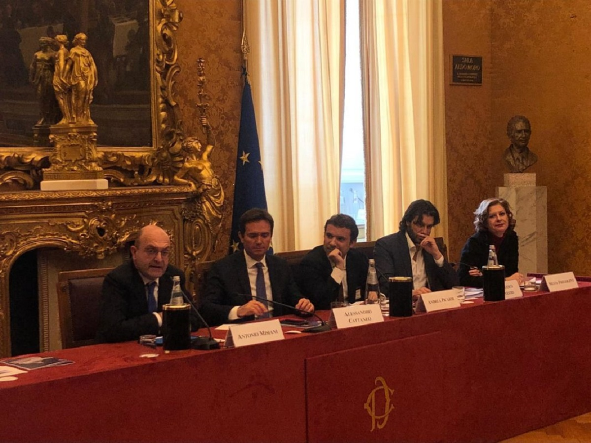 Telos A&S with AmCham Italy on lobbying regulation