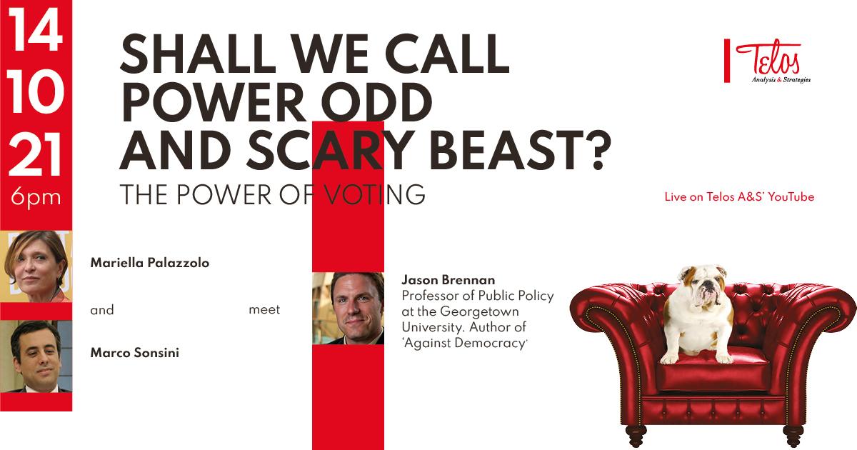 Il potere del voto. Ne parliamo con Jason Brennan