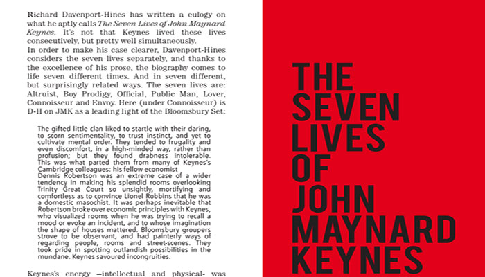 The Seven Lives of John Maynard Keynes
