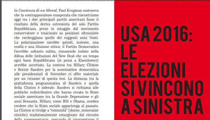 USA 2016: le elezioni si vincono a Sinistra