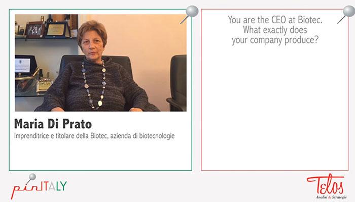 Interview with Maria Di Prato