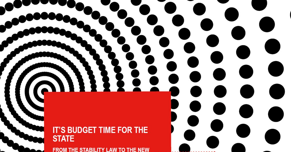 It's Budget time forthe State