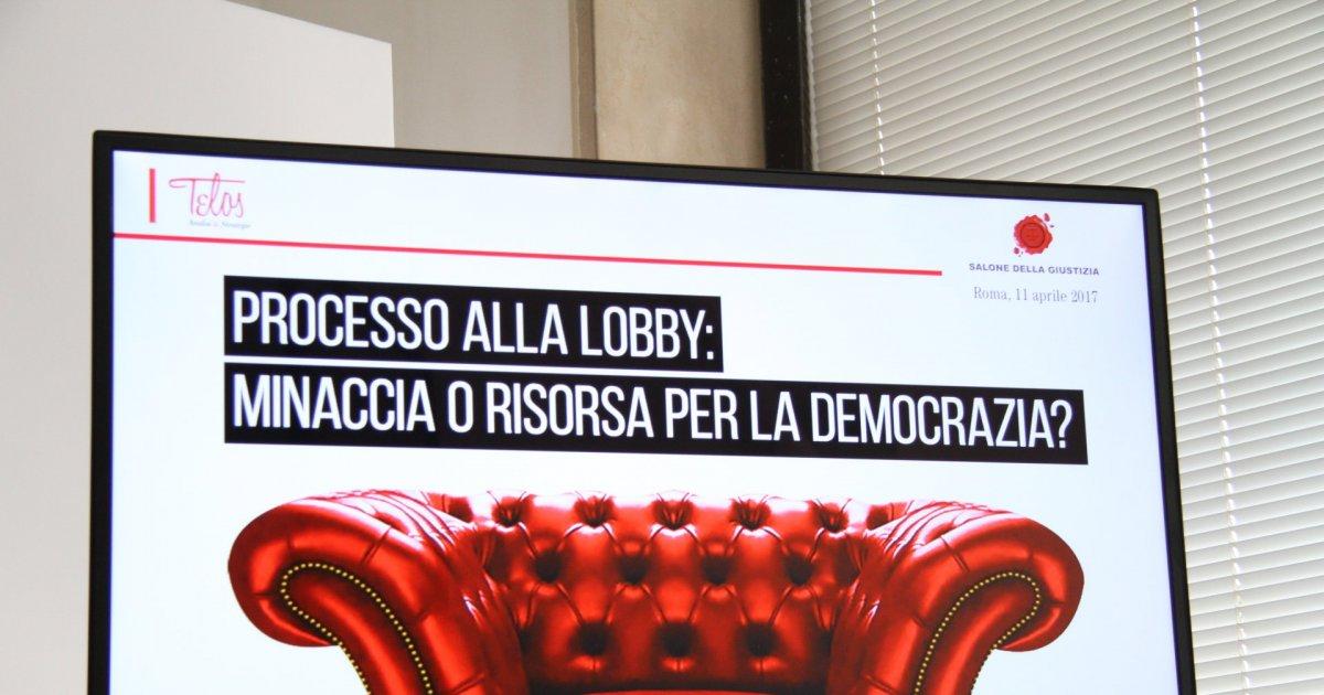 Professione lobbista: risorsa o presenza imbarazzante? – la rassegna stampa