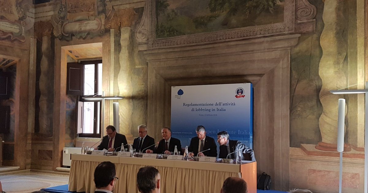 About Lobbying: AmCham Italy Recommendation Report