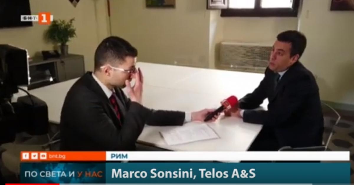 Sonsini esprime il suo parere di analista politico alla vigilia delle Elezioni Europee
