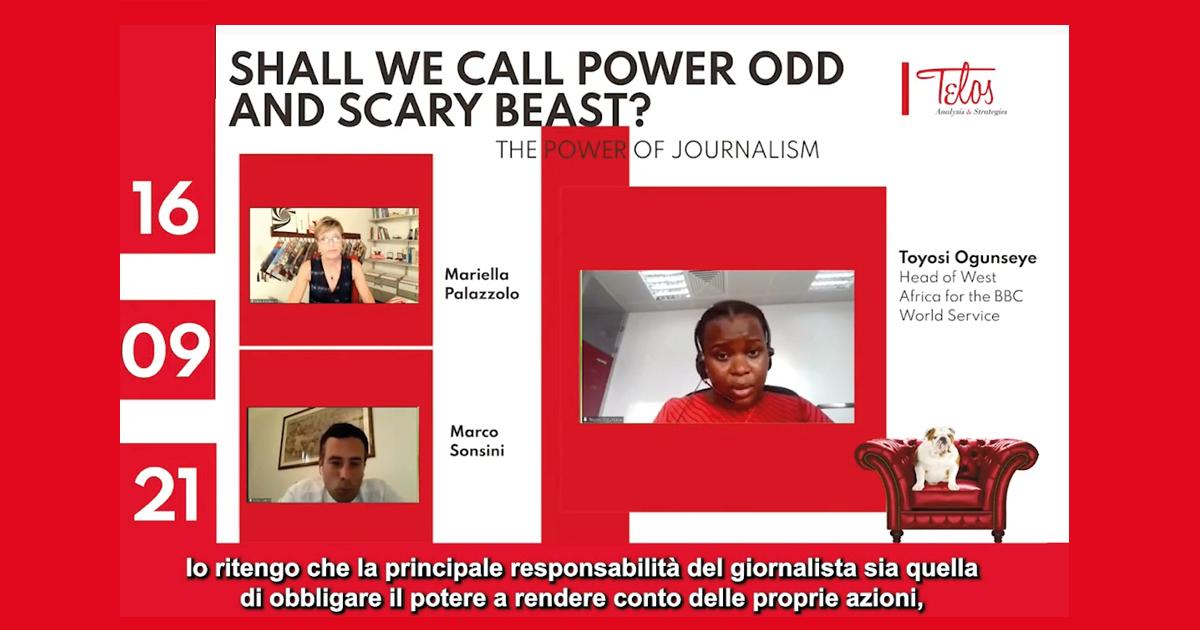 The power of journalism according to Toyosi Ogunseye of the BBC